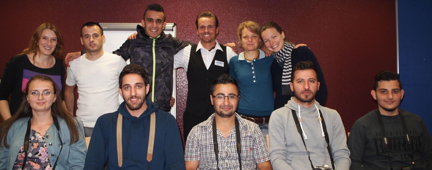 Schulung bei FOBI Gruppenfoto