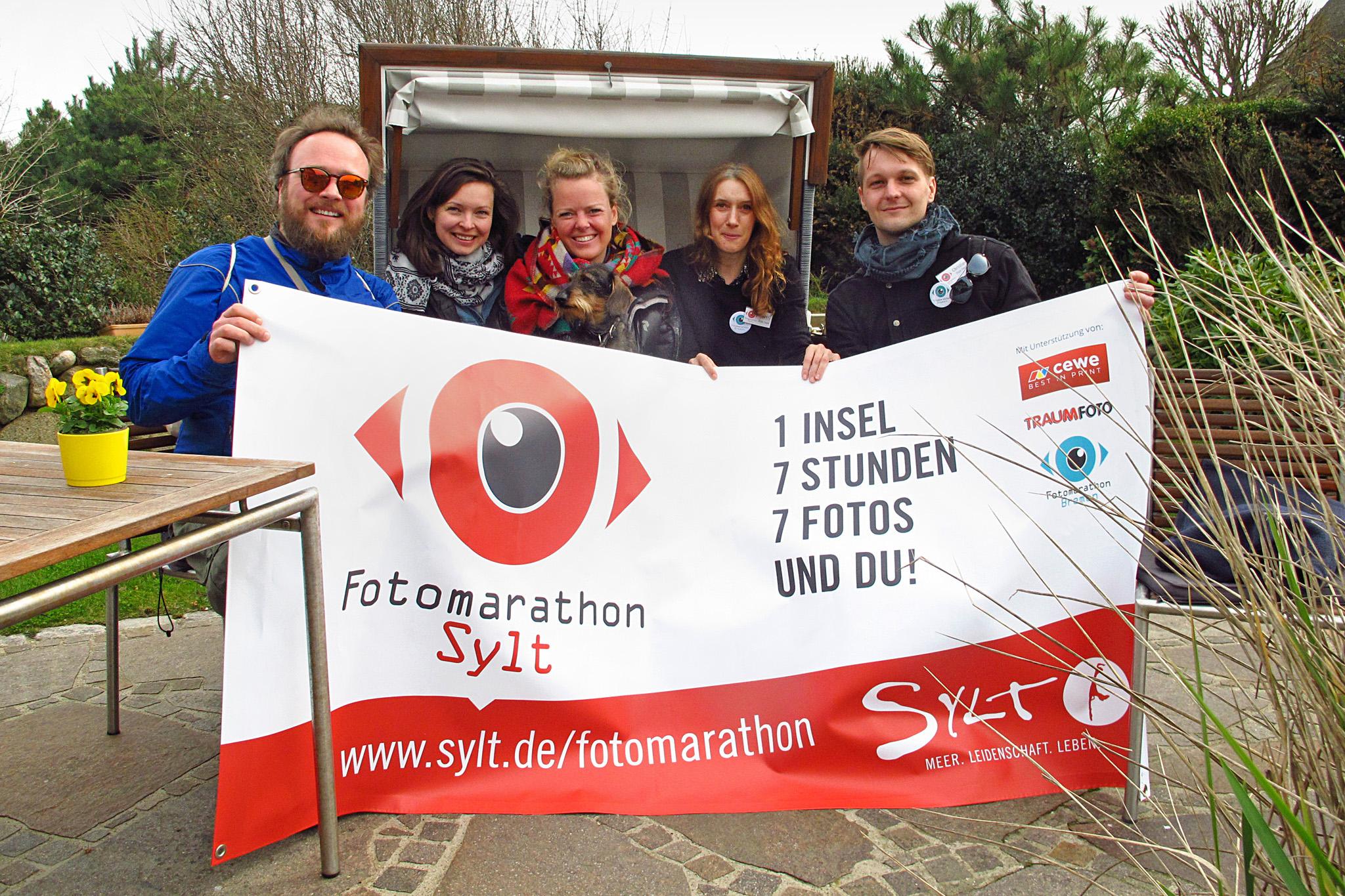 Das Organisationsteam des Fotomarathon Sylt