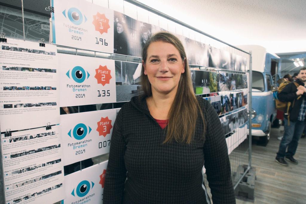 Claudia Voss Gewinnerin des Fotomarathon Bremen 2019